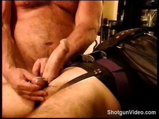 Thrall gets some nasty torture from his dom on his jock and balls