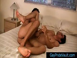 Twink receives butthole rimmed and fingered part3