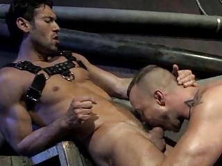 Stylish Muscled Fellows Coarse Anal drilling And Fucking