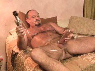 Dad Works Out Body And Cock