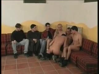 Homosexual guy group sex