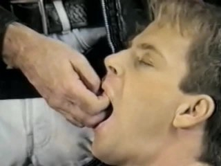 Vintage Homosexual Leather Domination