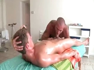 Sexy Guy Receives Oiled Up And Prepped For Homo Massage 3 By GotRub