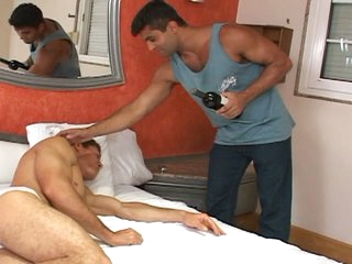 Henrique and arnold skip the bottle of wine and go str8 to the sex