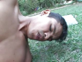 It's a nice day for fucking outside. The creole chaps are greater quantity then ready to receive filmed when fucking and what a show the can give us too. Starting with a rimjob and blowjob they receive in position and suggest us the sight of a passionately anal fuck. Going unfathomable and hard from sideways is only one of their poses