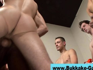 Jism loads for a horny gay
