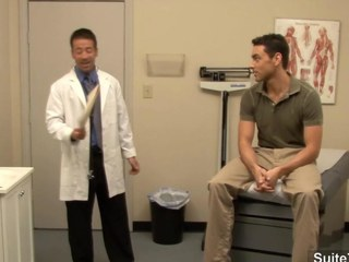 Lusty doctor receives nailed by his homosexual patient at work